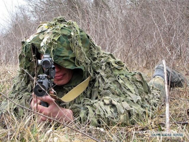 Moderne russische gebirgsj0e4ger