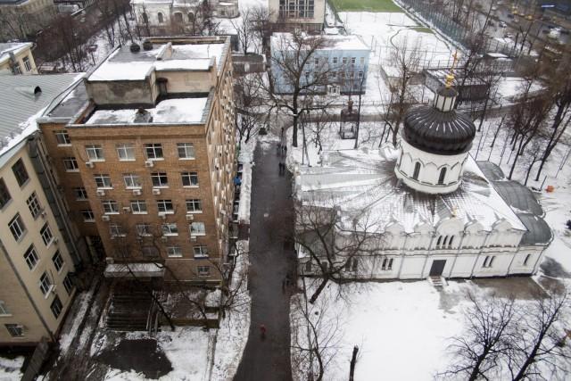 РПЦ хочет отнять и разрушить здание института океанографии