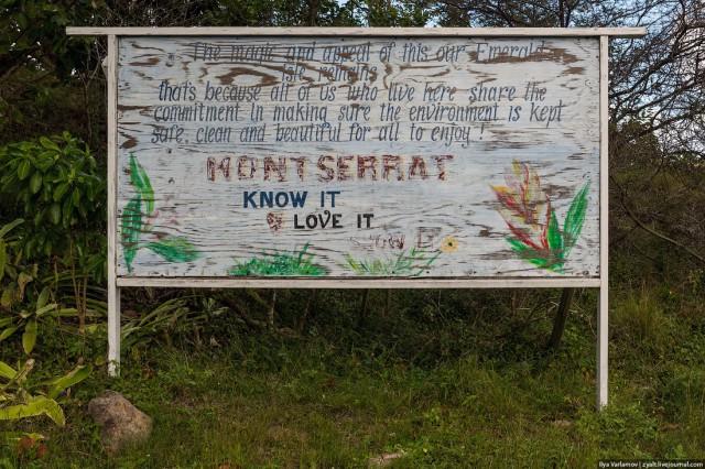 Монтсеррат, заброшенная страна