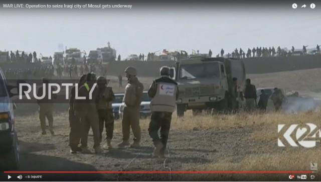 Иракская армия штурмует Мосул. Видеотрансляция