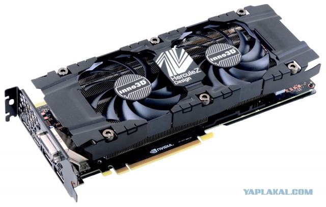inno3d geforce gtx 1070 ti x2 8gb МСК