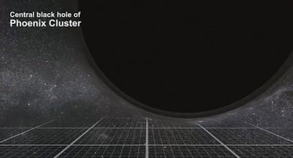 """Масса """"чёрной дыры""""-наглядно."""