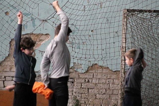В Кривом Роге зимнее первенство молодежи прошло в крайне стремных условиях