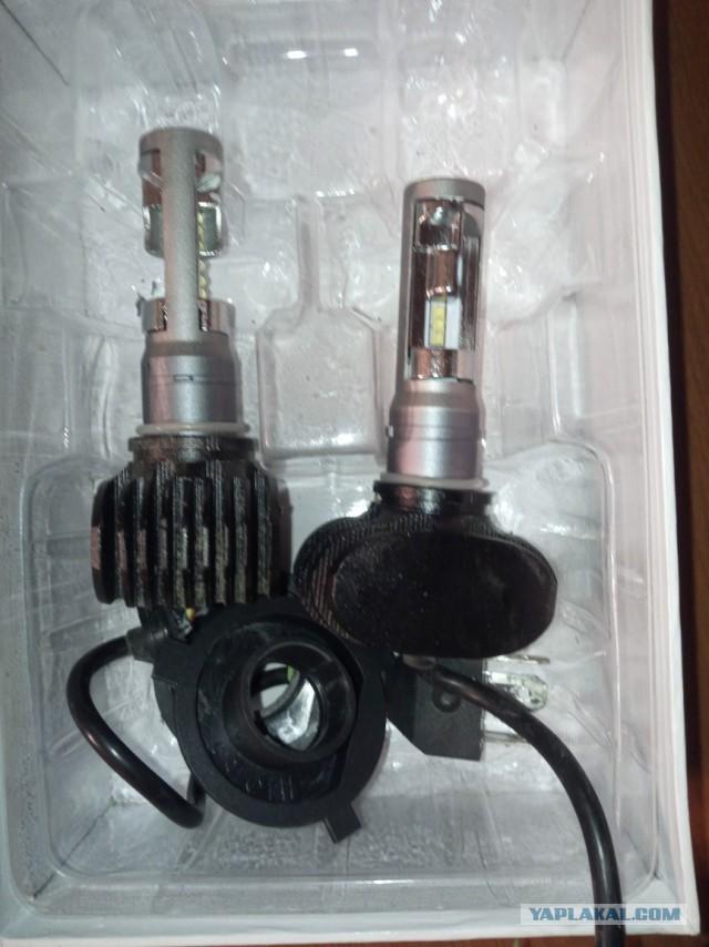 Рация Алан 100 плюс и лампы светодиодные Н4 Starled S5