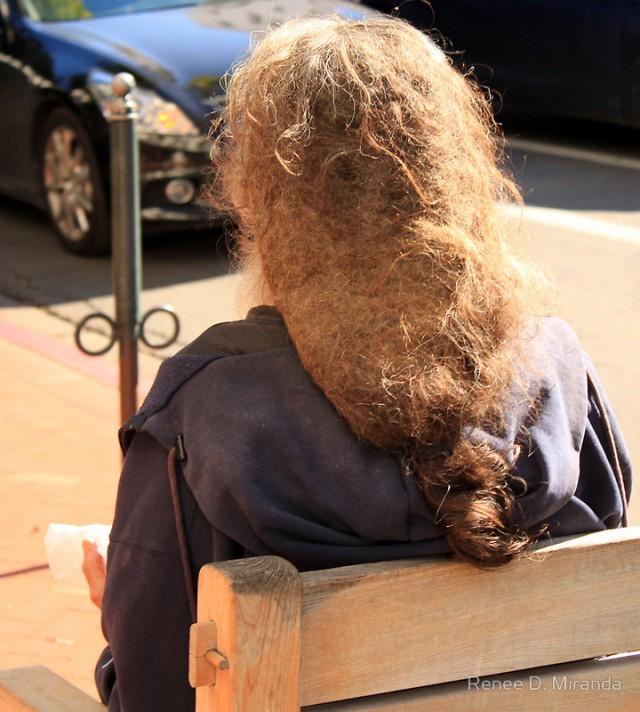 Длинный короткий волос ум