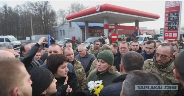 Скандал на похоронах героя «АТО» в Тернополе