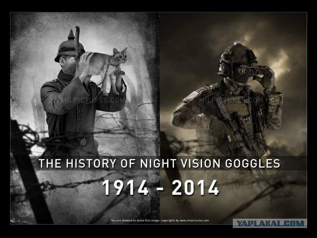 История прибора ночного видения