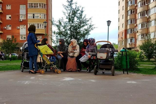 Национальное гетто в спальном районе Москвы
