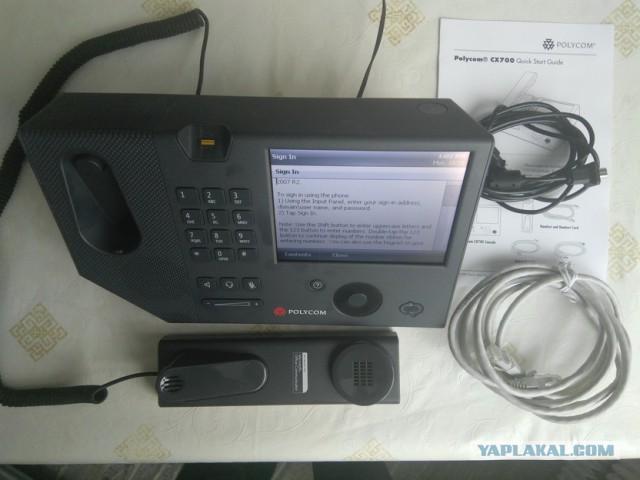 IP телефон Polycom CX700 новый, Москва 1700р