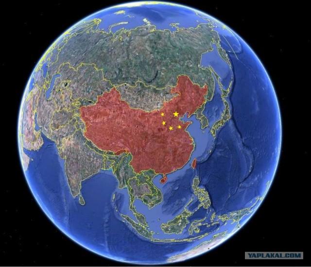 Китай - постоянно разный. Доля негатива...