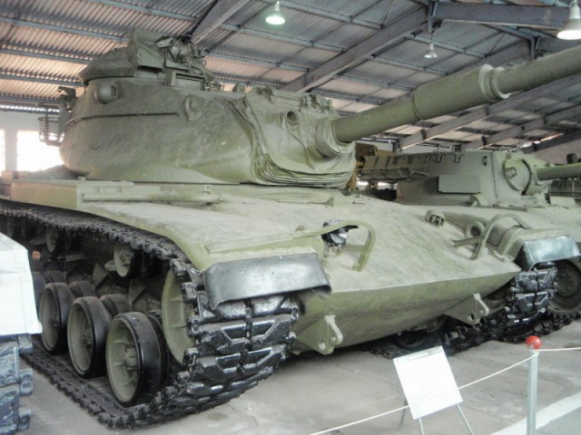В 1961 году иранский офицер-перебежчик угнал в СССР новейший американский танк М60