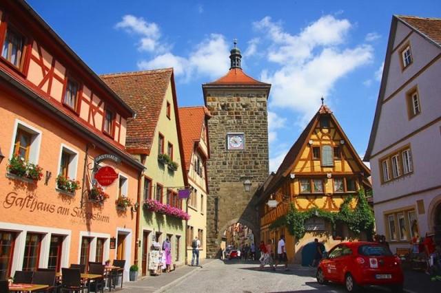 Фото 19 деревень и маленьких городов Германии