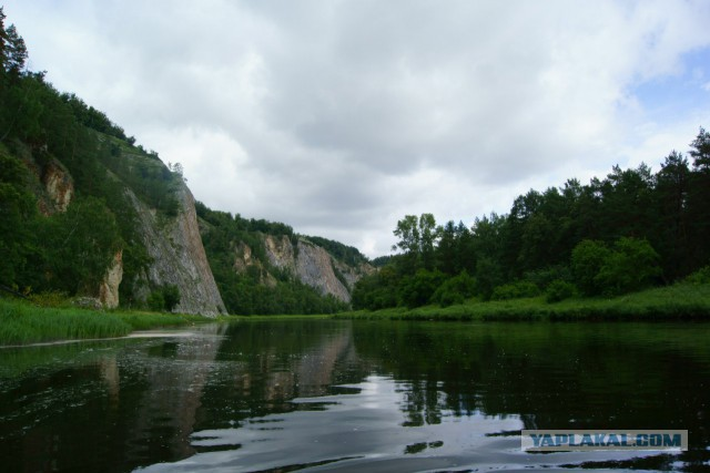 Сплав по реке Белая (Башкирия). Лето 2015