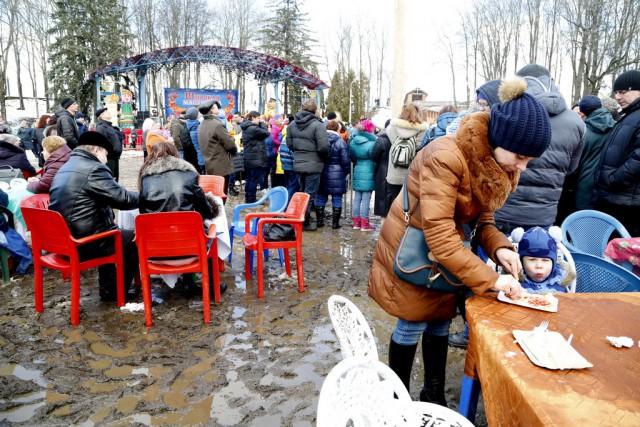 Смоленская Масленица. Центр города