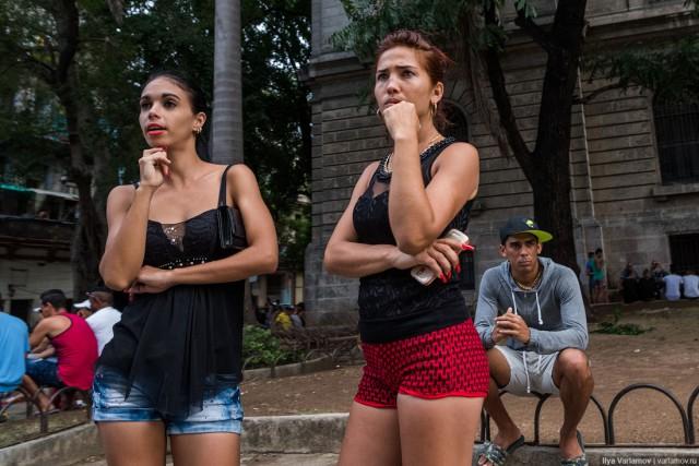 Кубинские шлюхи