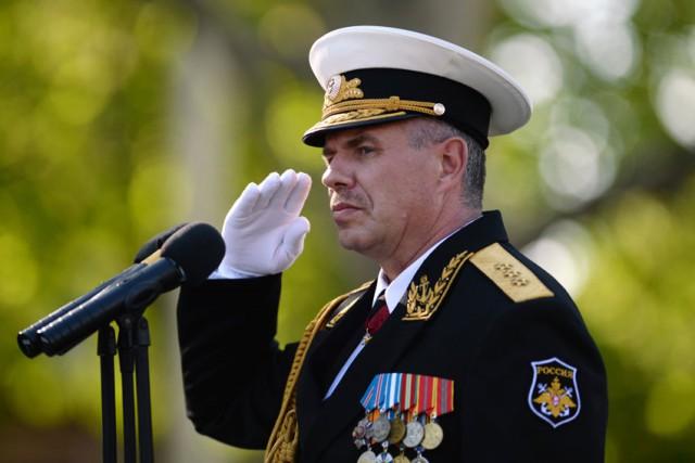 Украина решила арестовать командующего Черноморским флотом Российской Федерации