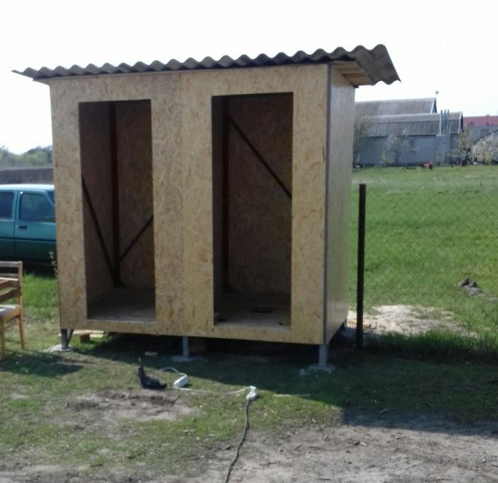 Туалет и душ на даче