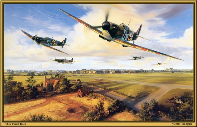 Красивые рисунки самолётов