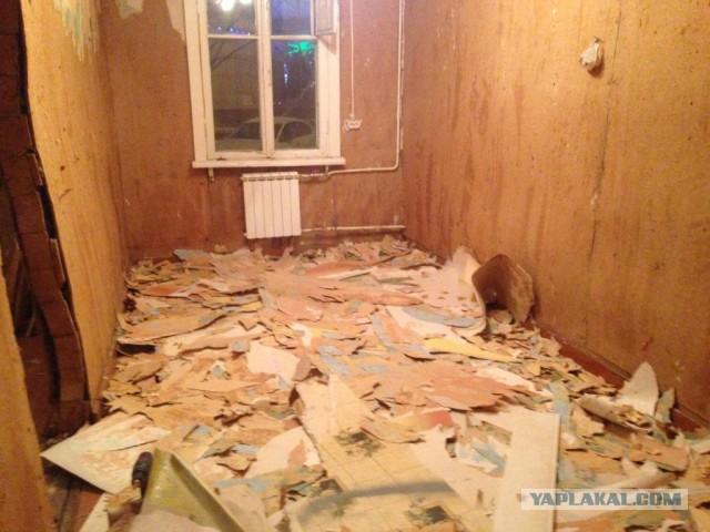 Ремонт убитой квартиры, часть 3 – спальня