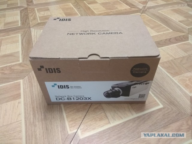 Продается Full HD IP Camera IDIS DC-B1203X + Объектив Tamron. МСК