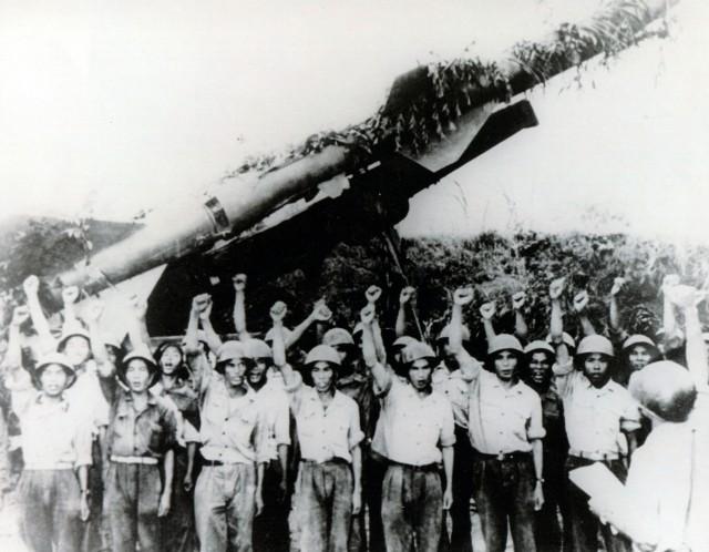 Зенитные ракеты во Вьетнаме:первая кровь