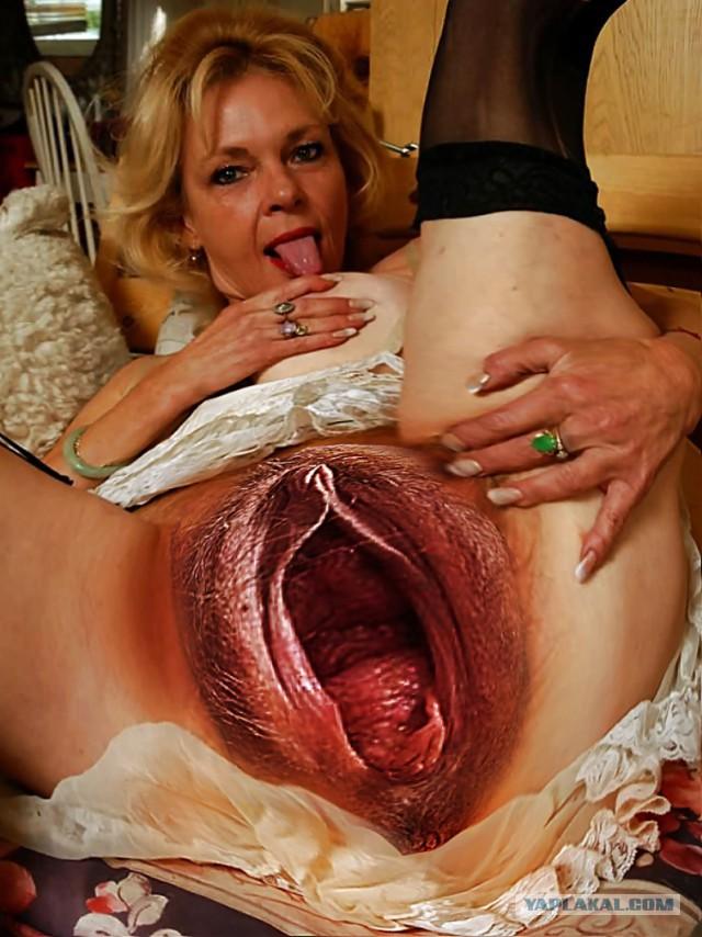 разёбаная агромная дырище вагины раkом kрупно