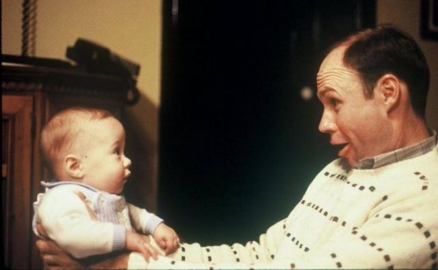 Сын и отец - тогда и сейчас