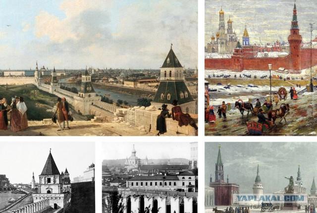 Когда Московский Кремль был красным, а когда белым?