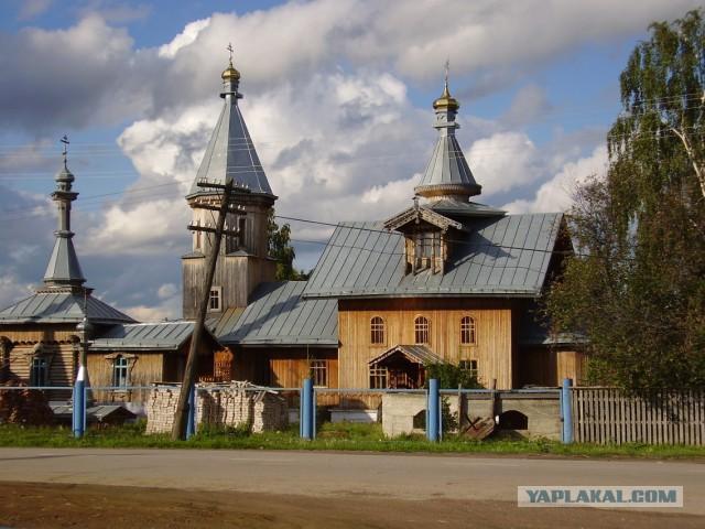 Мой родной сибирский поселок