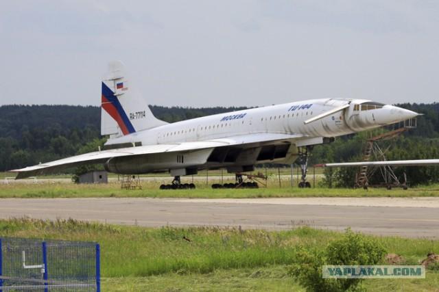 Спасение Ту-144 в Жуковском