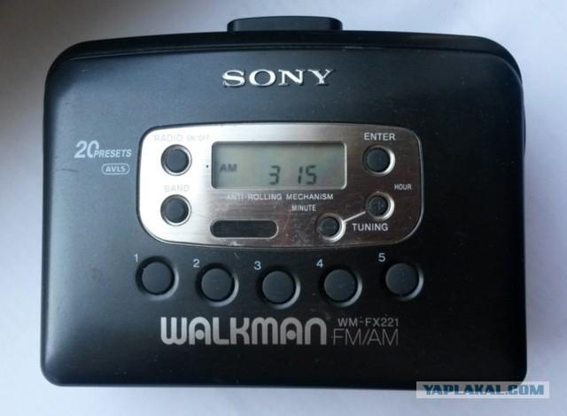 Плеер для олдскулов - Sony Walkman