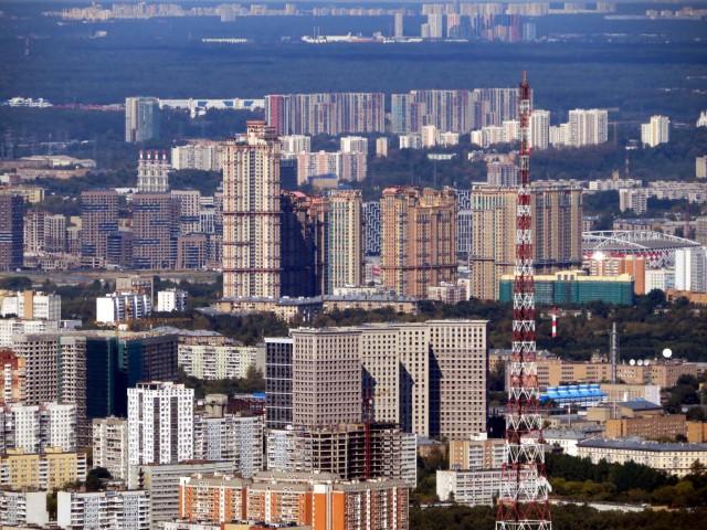 Москва с высоты 365 метров