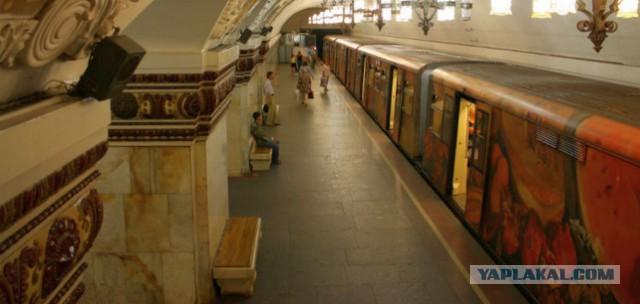 Интересные наблюдения в московском метро