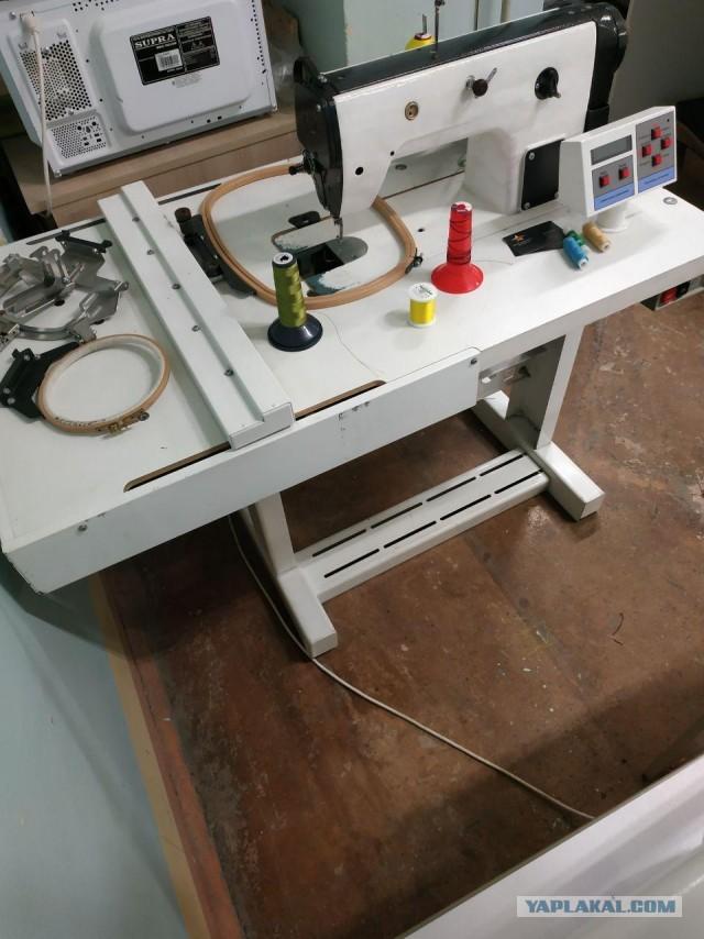 Вышивальная машинка БУ