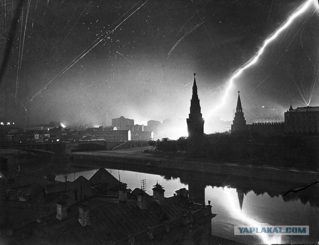 Прогулка по Москве 1941 года