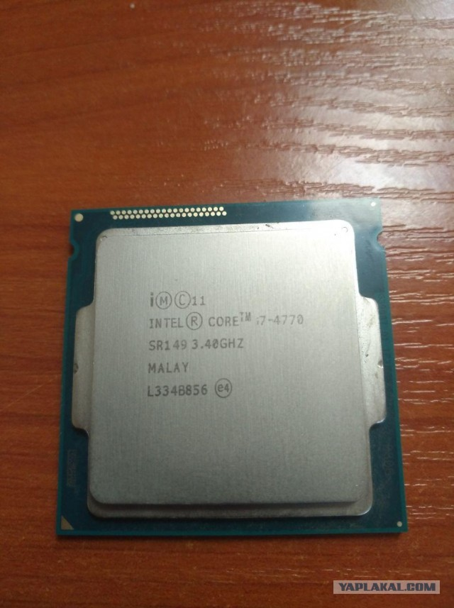 Продам Intel Core i7-4770 Haswell 1150