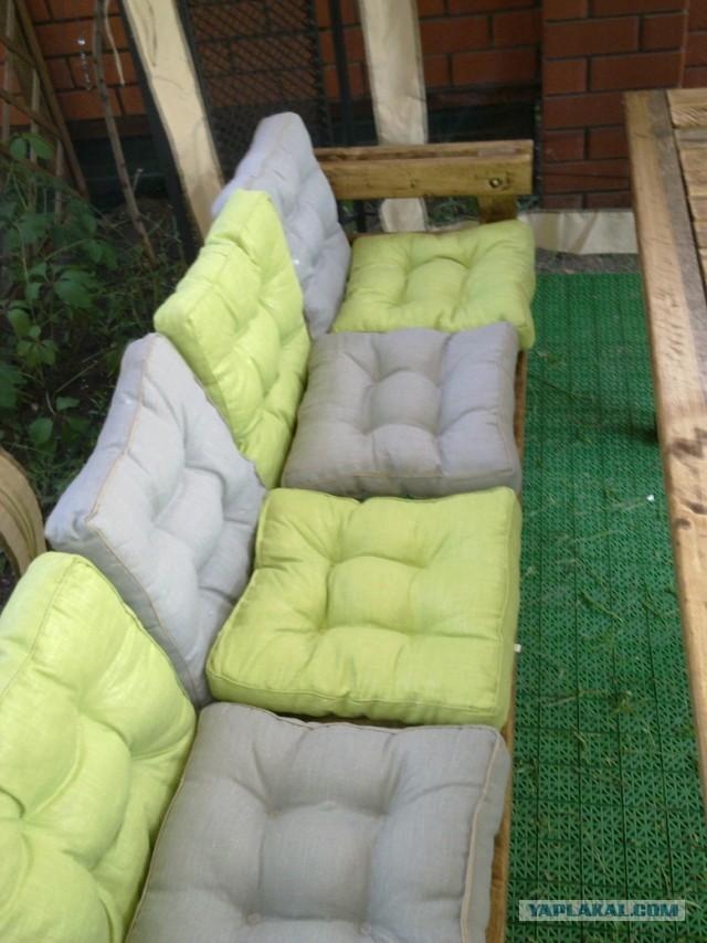 Сидушка для дивана своими руками