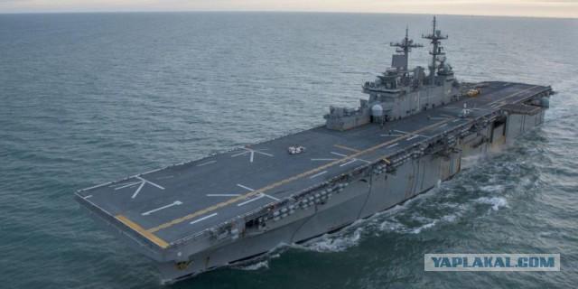 Китай не дал американскому военному кораблю зайти в порт Гонконга