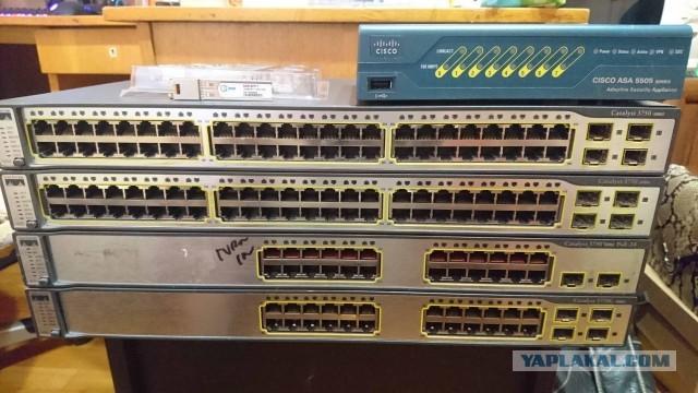 Продам Cisco Catalyst 3750 series (С-Пб)