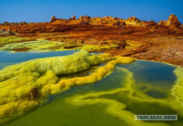 Геологическая депрессия: это место считается самым безжизненным на Земле