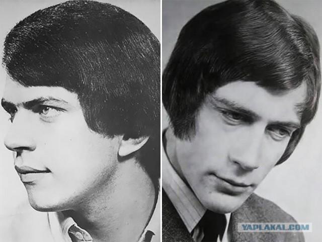В 70-е эти мужские прически считались писком моды