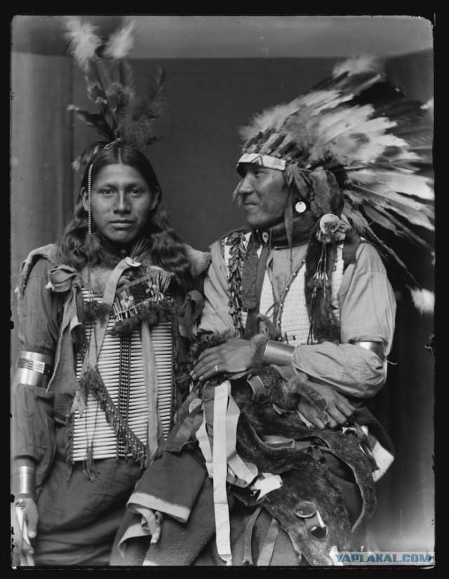 Индейцы племени Сиу