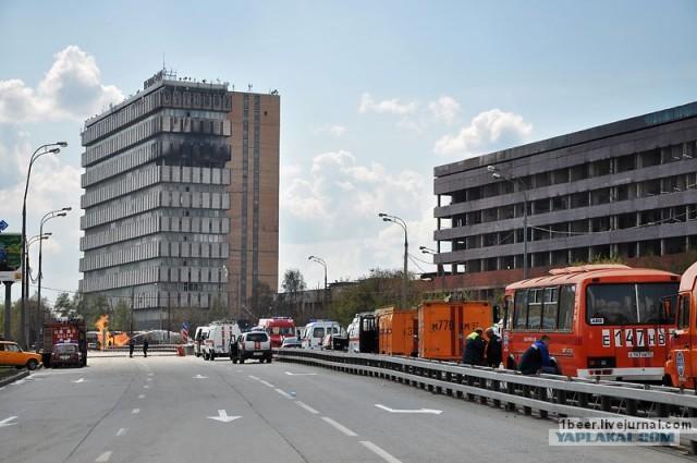 После аварии на газопроводе в Москве