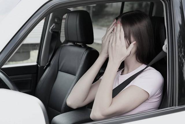Женщина за рулем сбила колонну детей
