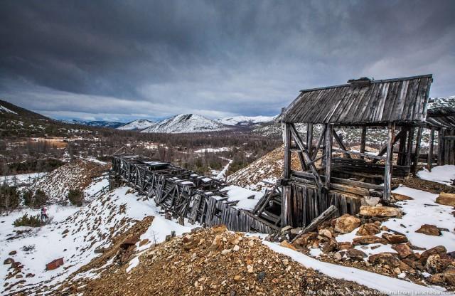 Дорога в один конец... Лагерь ГУЛАГа на Колыме.