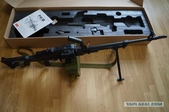 Страйкбольный пулемёт ПКМ обмен-продажа