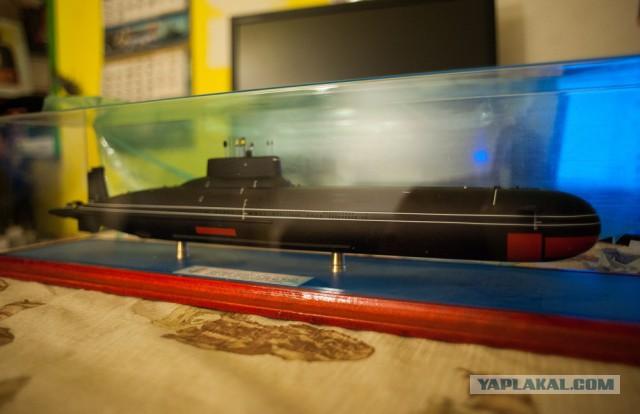 макеты подводных лодок северодвинск