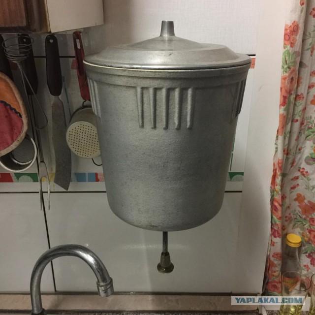 Отдам в дар советский бак для воды нуждающемуся