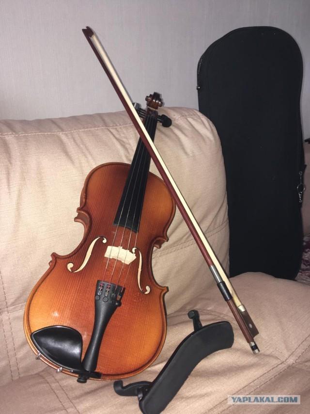 Скрипка 1/2 немецкая мастеровая
