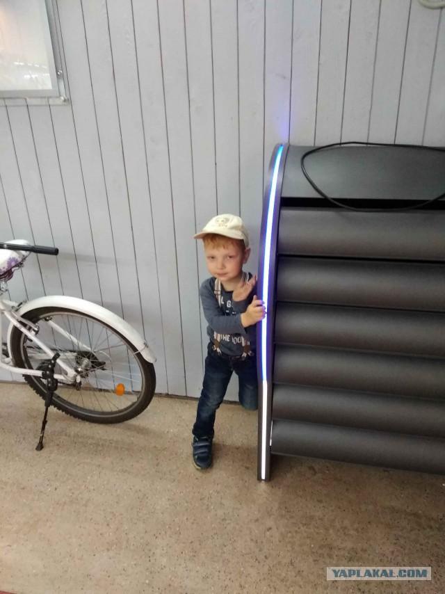 Светодиодный гараж